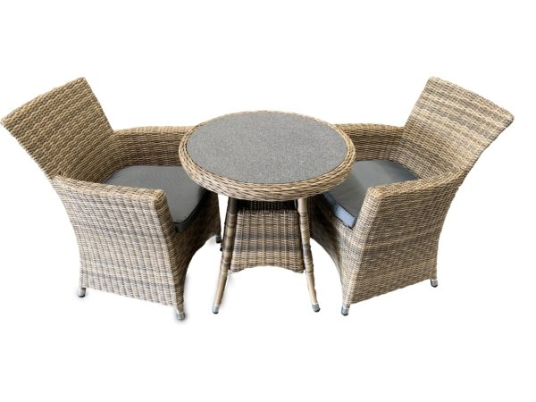 Ballero 3pce Dining Setting - Outdoor Furniture Superstore