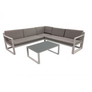 Samford 3pce corner setting with Sunlounge option - Outdoor Furniture Superstore