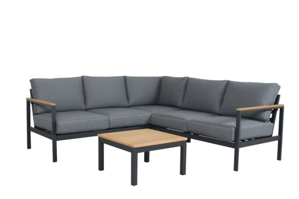 Topaz 3pce Corner Lounge Setting - Outdoor Furniture Superstore