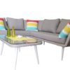 3 pce Sorrento corner Lounge - Outdoor Furniture Superstore
