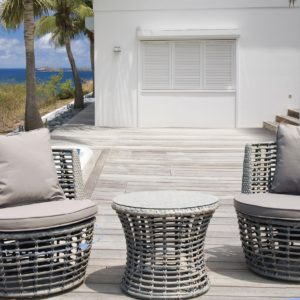 Marco 3pce Swivel Chair Setting - Outdoor Furniture Superstore