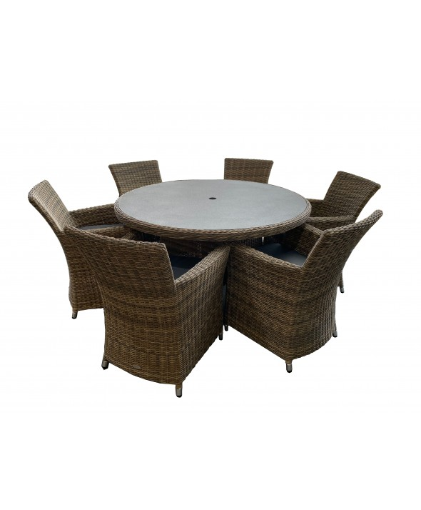 Ballero 7pce Dining Setting - Outdoor Furniture Superstore