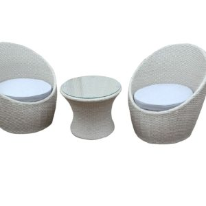 Camilo 3pce Wicker Balcony Setting - Outdoor Furniture Superstore