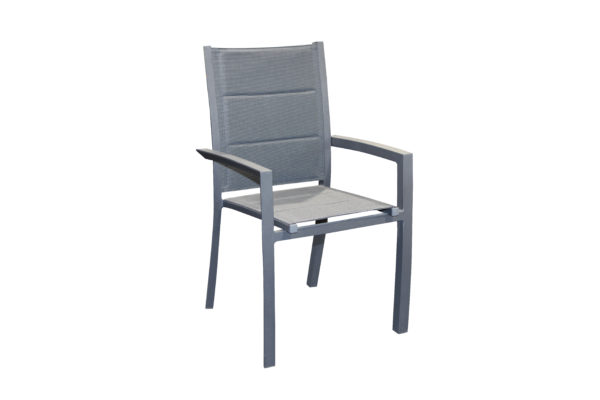 Allure Aluminium Sling Dining Chair - Outdoor Furniture Superstore