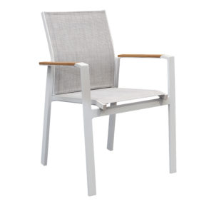 Bahia Teak Arm Dining Chair - Outdoor Furniture Superstore
