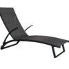 Bloom Sunlounge Black - Outdoor Furniture Superstore