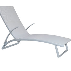 Bloom Sunlounge Light Grey - Outdoor Furniture Superstore