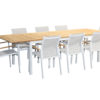 Essence Teak Ext 9pce Dining Setting - Outdoor Furniture Superstore