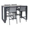 Fermo 5pce Bar Setting - Outdoor Furniture Superstore