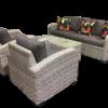 Miami 4pce Wicker Sofa Setting - Outdoor Furniture Superstore