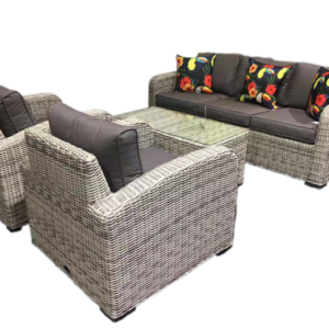 Miami 4pce Wicker Sofa Setting - Outdoor Furniture Superstore