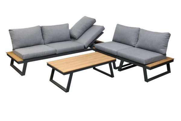 Troy 4pce Modular Lounge Setting - Outdoor Furniture Superstore