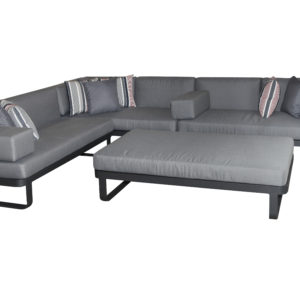 Verona 4pce Modular Lounge Setting - Outdoor Furniture Superstore
