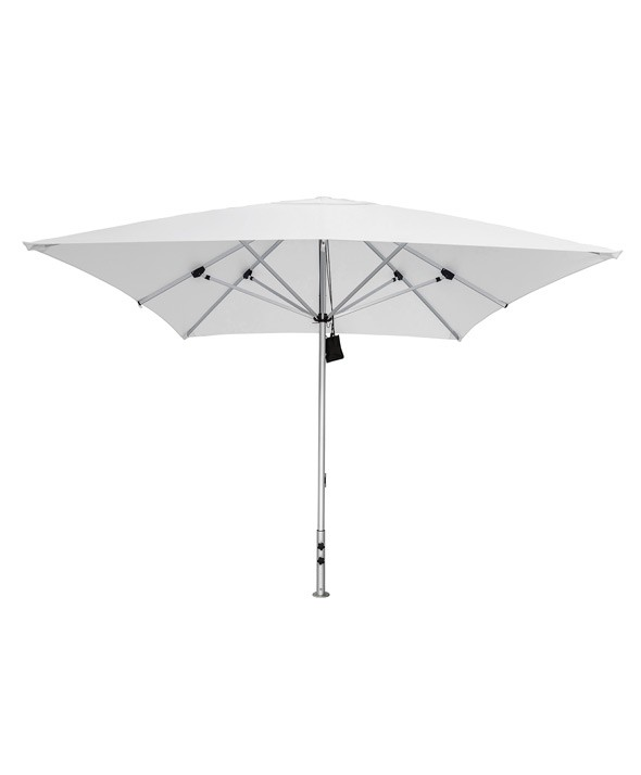 Cafe Centrepost Umbrella 2m Square - White - Outdoor Furniture Superstore