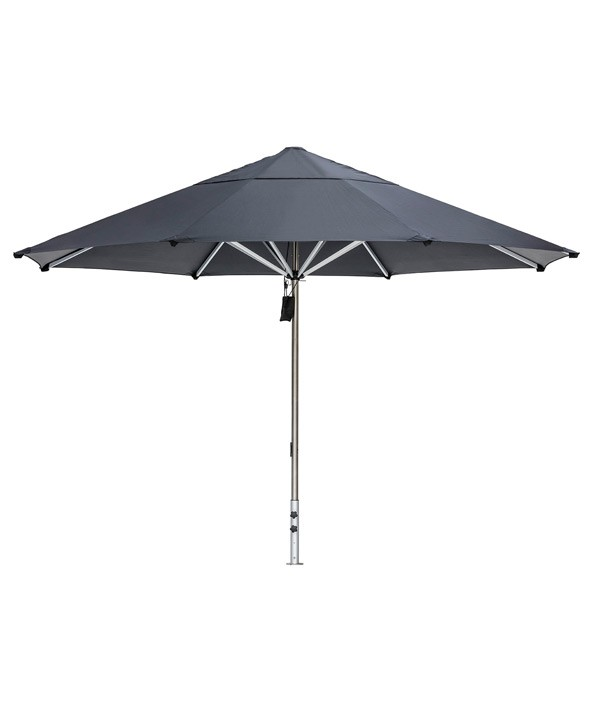 Cafe Centrepost Umbrella 2.8m Octagonal - White - Outdoor Furniture Superstore