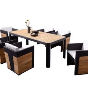 Greenwich 7 piece Dining Setting - Outdoor Furniture Superstore
