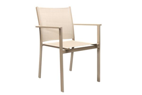 Barettp Sling Chair Champagne /Khaki