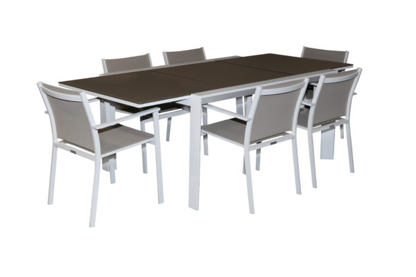 Pesaro 7 Piece Ext Dining Setting