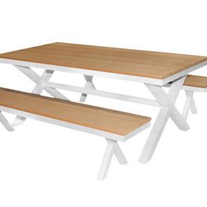Polywood 3pce Bench Setting