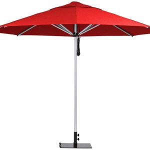 Monaco Umbrella Red