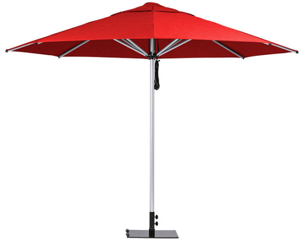 Monaco Umbrella Red