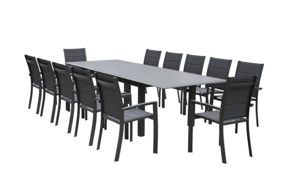Allure 11pce Ext Dining Setting