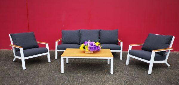 Alice 4pce Aluminium Outdoor Lounge