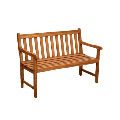 Teak 3 Seat Park Bench