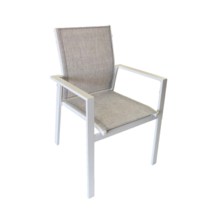 Bahia Sling Chair White