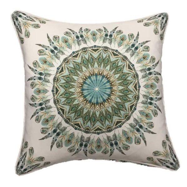 Boho Mandala Outdoor Cushion Cover 45 x 45cm