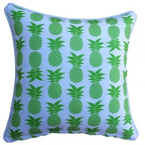 Lime Green Palmapple Outdoor Cushion 45 x 45cm