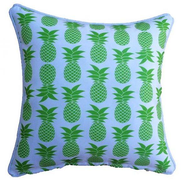 Lime Green Palmapple Outdoor Cushion 45 x 45cm