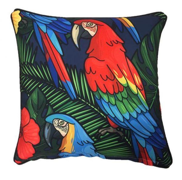 Macaw Outdoor Cushion 45 x 45cm