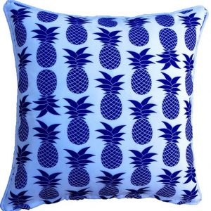 Mykonos Blue Palmapple Outdoor Cushion 45 x 45cm