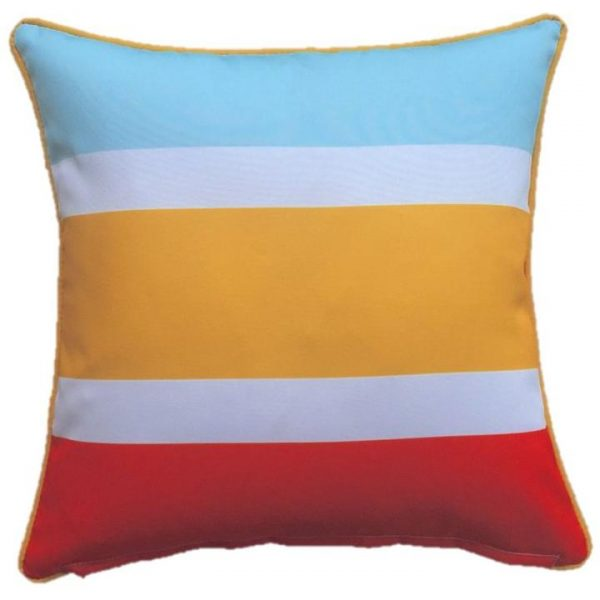 Trio Yellow Outdoor Cushion Cover 45 x 45cm